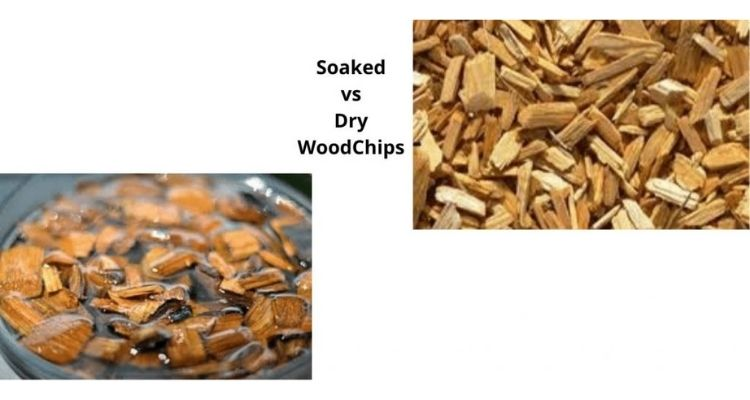 Soaked vs Dry Wood Chips