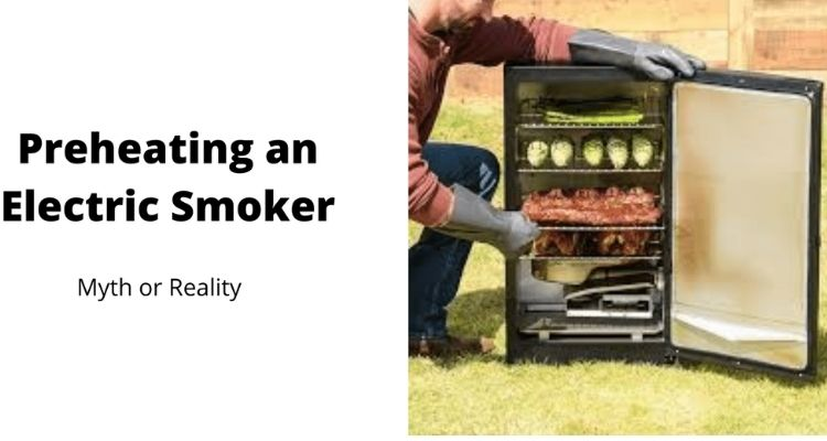 Preheating an Electric Smoker