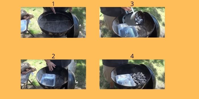 How to turn a charcoal grill into smoker