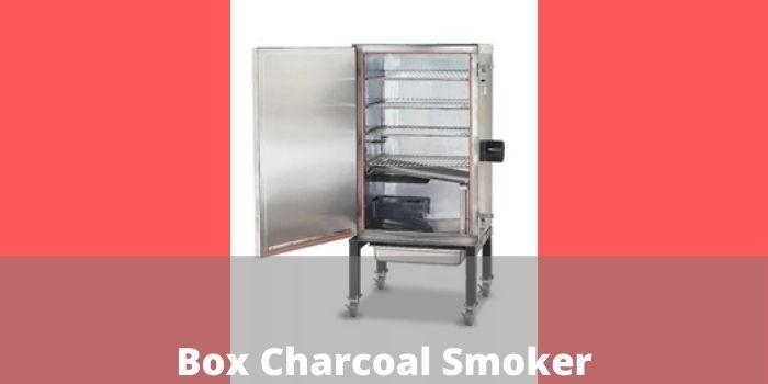 Box Charcoal Smoker