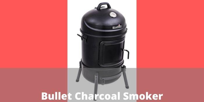 Bullet Charcoal Smoker