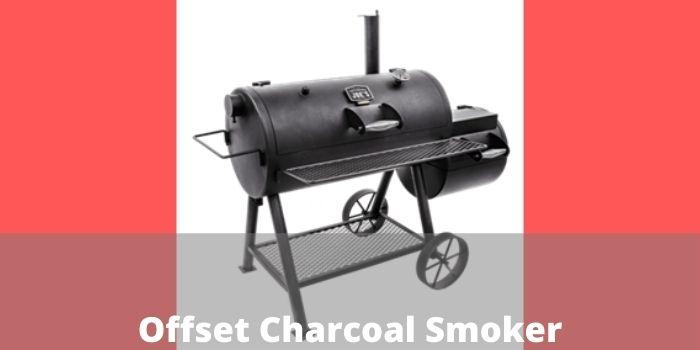 Offset Charcoal Smoker