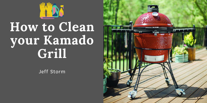 How to clean Komado Grills