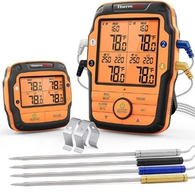 ThermoPro TP27 500FT Long Range Wireless Meat Thermometer