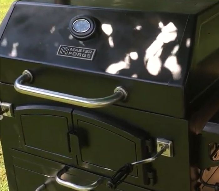 gas grill to smoker conversion