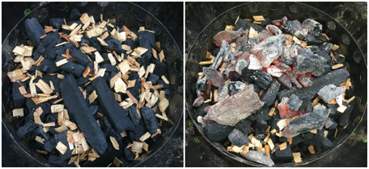 How to keep a charcoal smoker going overnight