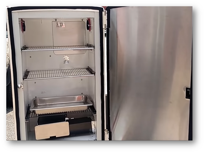 How to make a bbq smoker out of a Refrigerator